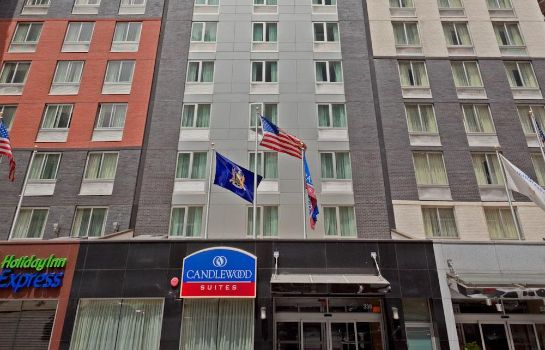 Exterior view Candlewood Suites NEW YORK CITY- TIMES SQUARE