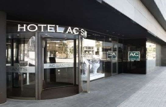 Exterior view AC Hotel Sants