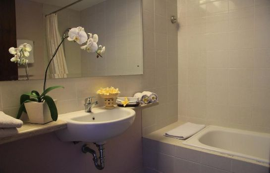 Bathroom The Grand Santhi Hotel