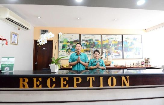 Reception The Grand Santhi Hotel