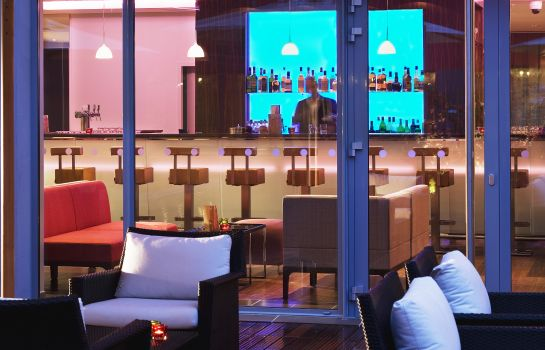 Hotel bar Radisson Blu Hotel Toulouse Airport