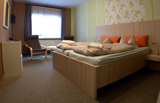 Chambre double (standard) Blechleppel Pension
