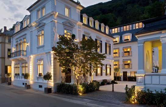 Außenansicht Boutiquehotel Heidelberg Suites - Small Luxury Hotels of the World