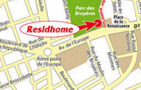 Information Residhome Paris Bois Colombes Apparthotel