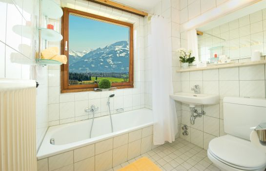 Bagno in camera CLC Alpine Centre