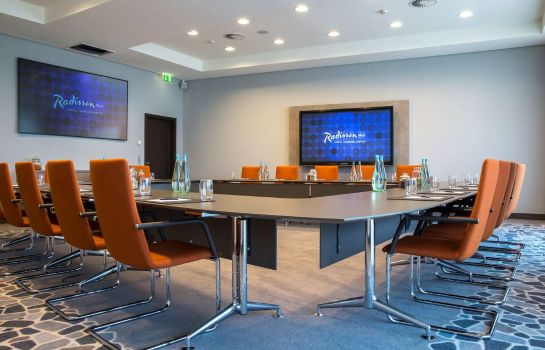 Conference room RADISSON BLU HAMBURG AIRPORT RADISSON BLU HAMBURG AIRPORT