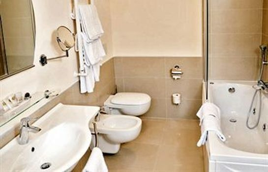 Bagno in camera Regal Park Hotel