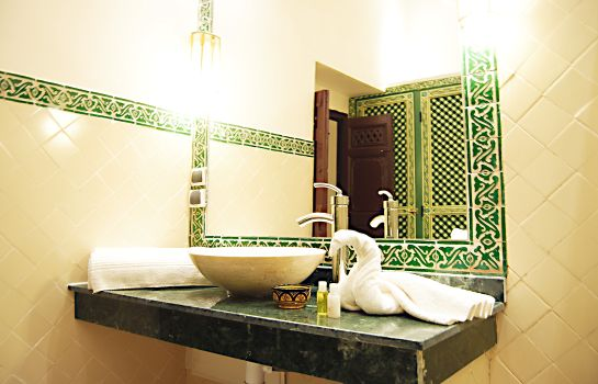 Badezimmer Riad les Oliviers