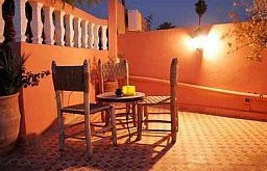 Terraza Riad les Oliviers