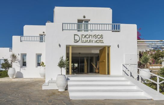 Vista all'interno Dionysos Luxury Hotel Mykonos