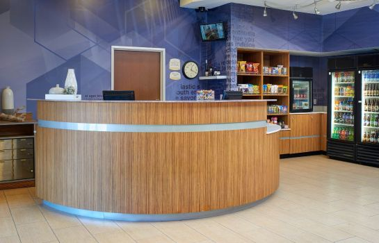 Hotelhalle SpringHill Suites St. Louis Brentwood