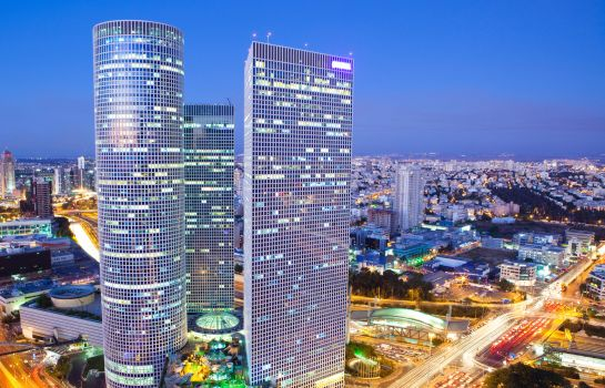Buitenaanzicht Crowne Plaza TEL AVIV CITY CENTER