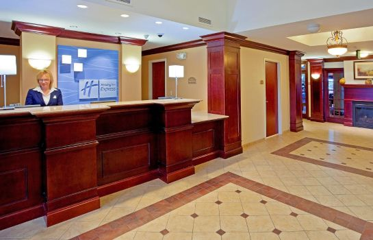 Lobby Holiday Inn Express & Suites LATHAM