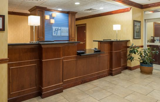 Hotelhalle Holiday Inn Express & Suites LEXINGTON DTWN AREA-KEENELAND