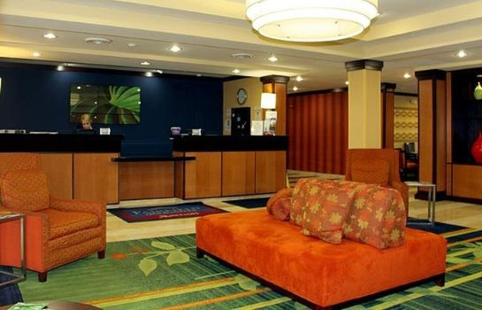 Lobby Fairfield Inn & Suites Fort Wayne