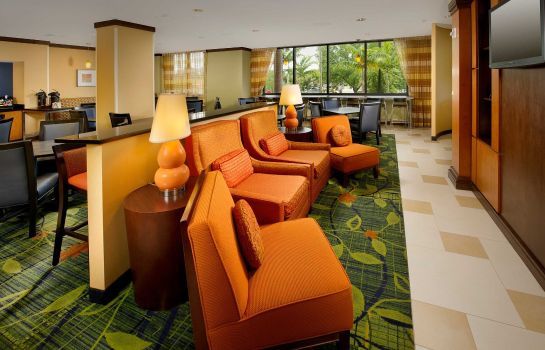 Hotelhalle Fairfield Inn & Suites Miami Airport South