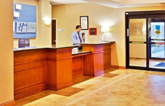 Hotelhalle Holiday Inn Express & Suites BARTLESVILLE
