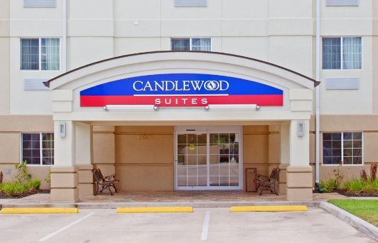 Vista exterior Candlewood Suites HOUSTON MEDICAL CENTER