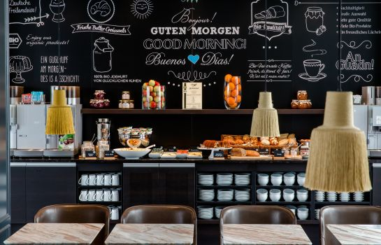 Breakfast buffet Motel One Sendlinger Tor