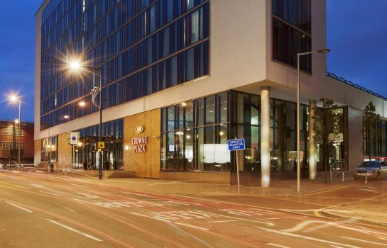 Exterior view Crowne Plaza MANCHESTER CITY CENTRE