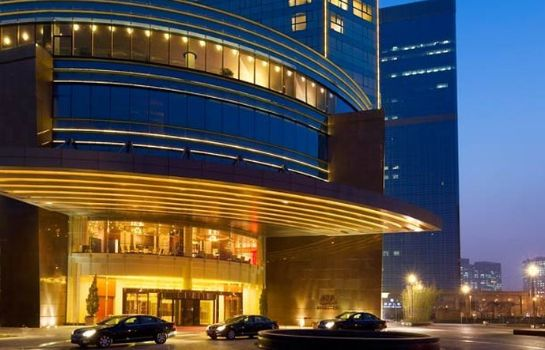 Exterior view Beijing Marriott Hotel Northeast