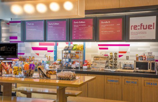 Restaurant Aloft Portland Airport at Cascade Station