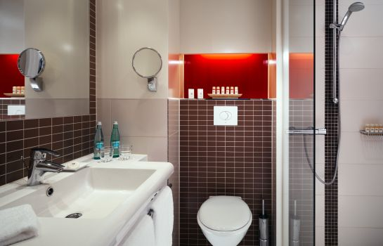 Bagno in camera Best Western Hotel Bamberg