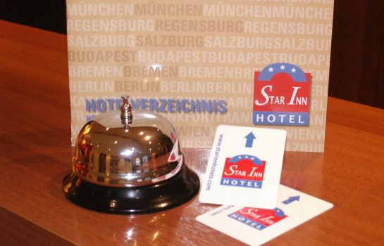 Empfang Star Inn Hotel Budapest Centrum, by Comfort