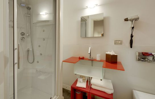 Bagno in camera Relais Antica Badia