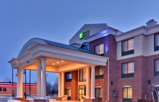 Außenansicht Holiday Inn Express & Suites DETROIT-NOVI
