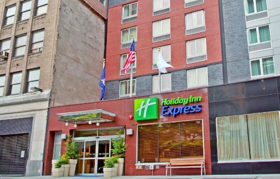 Vista exterior Holiday Inn Express NEW YORK CITY TIMES SQUARE