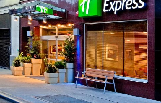 Buitenaanzicht Holiday Inn Express NEW YORK CITY TIMES SQUARE