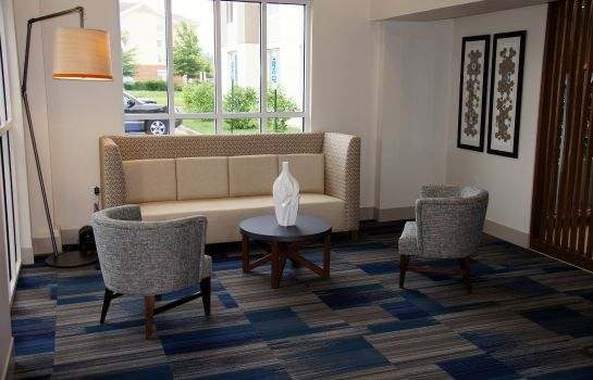 Hall de l'hôtel Holiday Inn Express CHESAPEAKE - NORFOLK