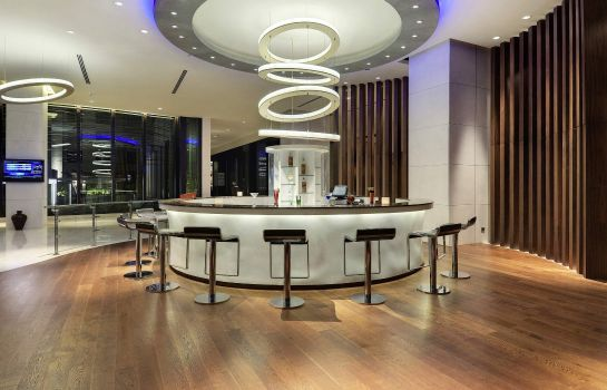 Hotel bar Novotel Hyderabad Airport