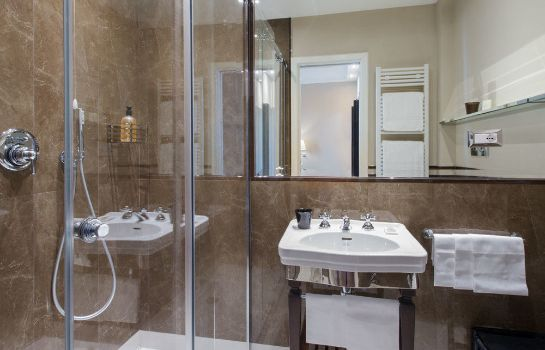 Bagno in camera Grand Hotel Francia & Quirinale