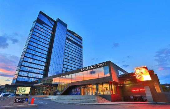 Exterior view RADISSON BLU IVERIA TBILISI CITY CENTRE