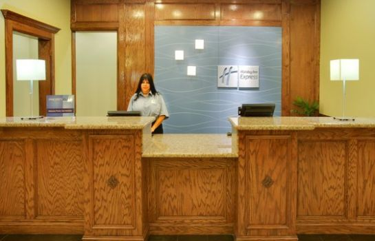 Hotelhalle Holiday Inn Express & Suites GALVESTON WEST-SEAWALL