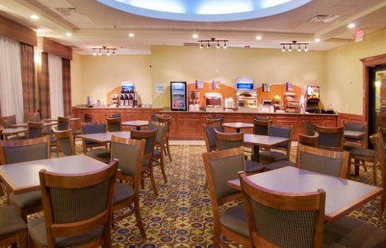 Restaurant Holiday Inn Express & Suites GALVESTON WEST-SEAWALL