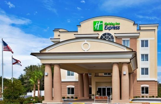 Buitenaanzicht Holiday Inn Express CRYSTAL RIVER