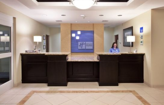 Hotelhalle Holiday Inn Express & Suites SAVANNAH - MIDTOWN