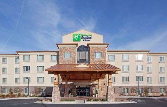 Buitenaanzicht Holiday Inn Express & Suites DENVER AIRPORT