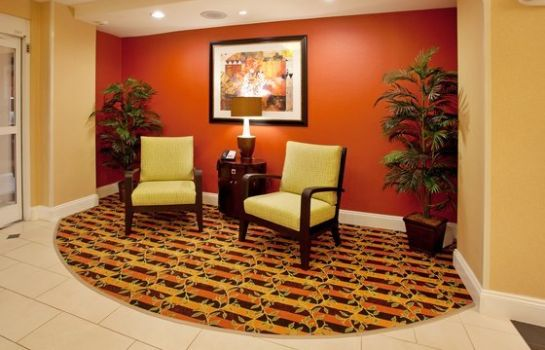 Vestíbulo del hotel Holiday Inn Express & Suites SPARTANBURG-NORTH