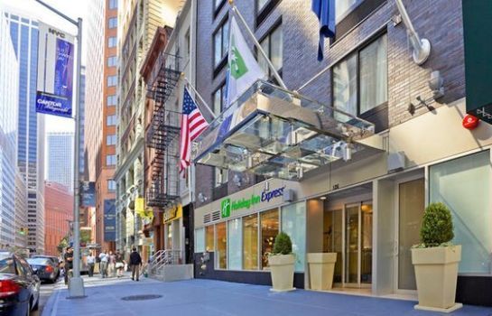 Vista esterna Holiday Inn Express NEW YORK CITY-WALL STREET