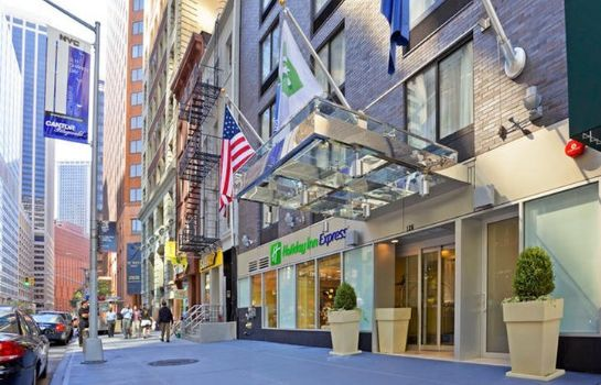 Außenansicht Holiday Inn Express NEW YORK CITY-WALL STREET