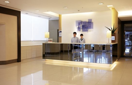 Hotelhalle Holiday Inn Express TAICHUNG PARK