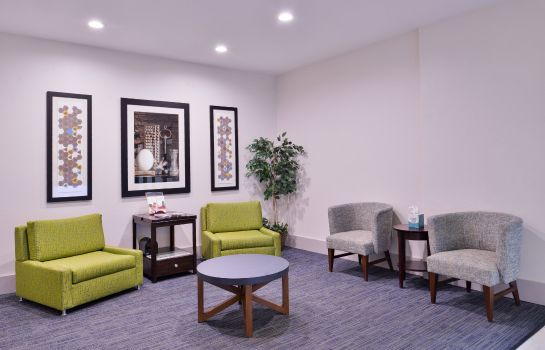Vestíbulo del hotel Holiday Inn Express & Suites SAN ANTONIO NW-MEDICAL AREA