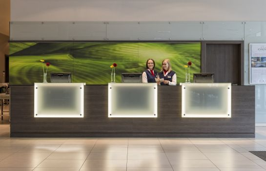 Receptie Park Inn by Radisson Linz