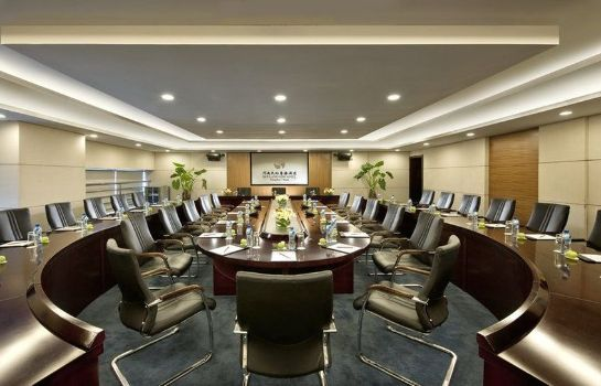 Sala de reuniones Henan Sky-Land Gdh Hotel booking need to double confirmed by manually during COVIN 19 period