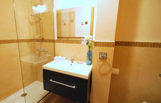 Bathroom Living Sevilla San Lorenzo Apartments