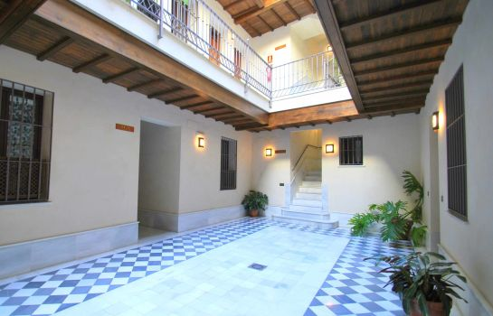 Interior view Living Sevilla San Lorenzo Apartments